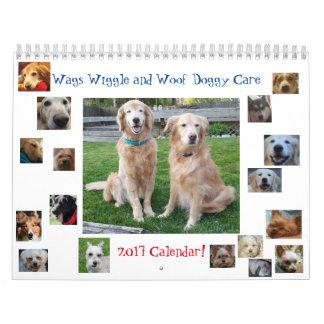 2017 sacodem o calendário do cuidado do Wiggle &