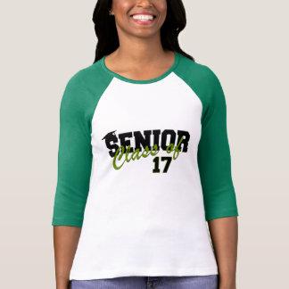 2017 t-shirt da classe superior