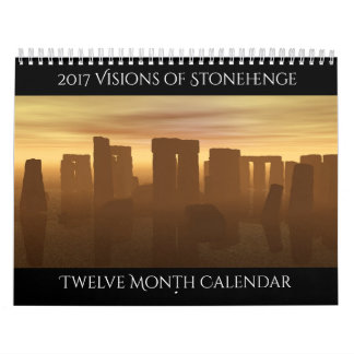 2017 visões do calendário de Stonehenge
