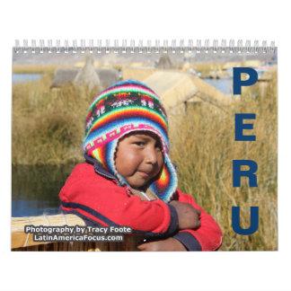 2018 calendário de Peru - calendário de Puno Peru