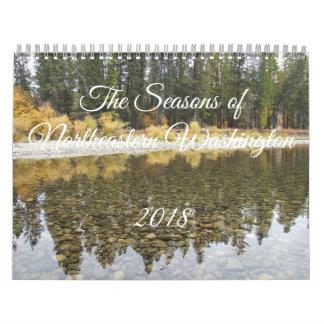 2018 estações do calendário do nordeste de