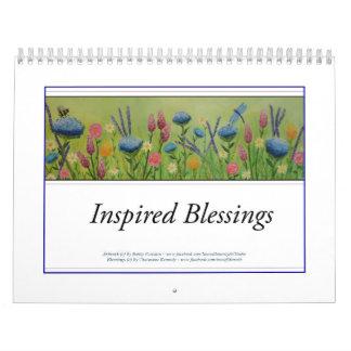 2018 inspirou o calendário das bênçãos
