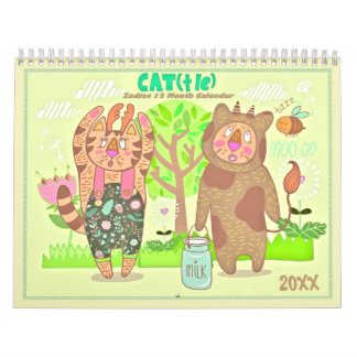 2018 o calendário dos gatos do zodíaco
