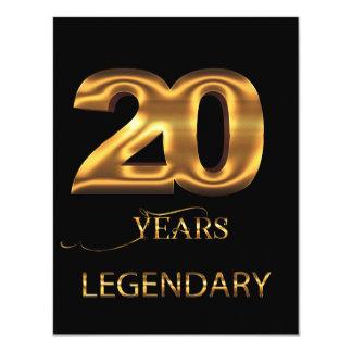 20 anos de cartão legendário