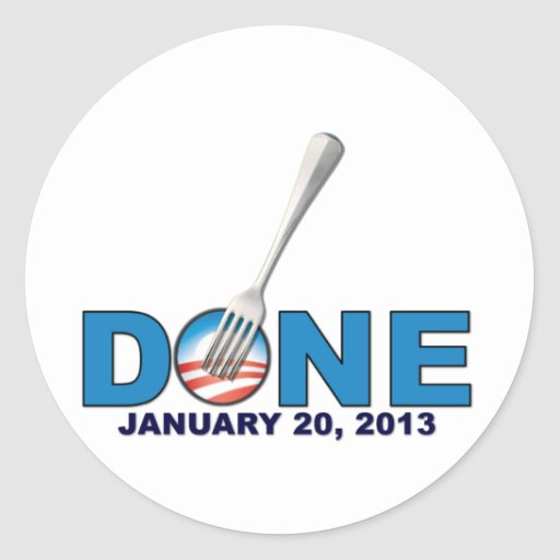 - 20 de janeiro de 2013 - anti Obama feito Adesivos