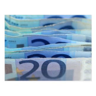 20 euro- contas cartão postal