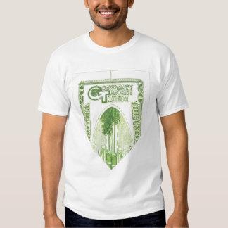 $20 Raglan dobrado dos homens 3/4-Sleeve Tshirt