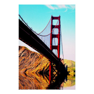 20 X 24 POSTERS DE GOLDEN GATE BRIDGE DO