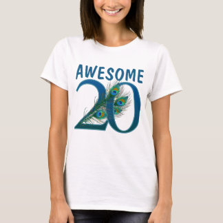 20o Camisas do aniversário