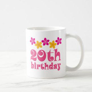 20o Ideias do presente de aniversário Caneca De Café