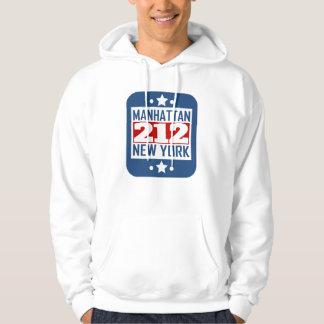 212 código de área de Manhattan NY Moletom