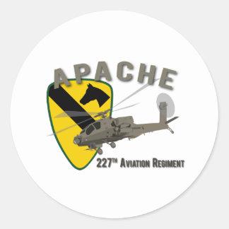 227th Aviação Apache Adesivo