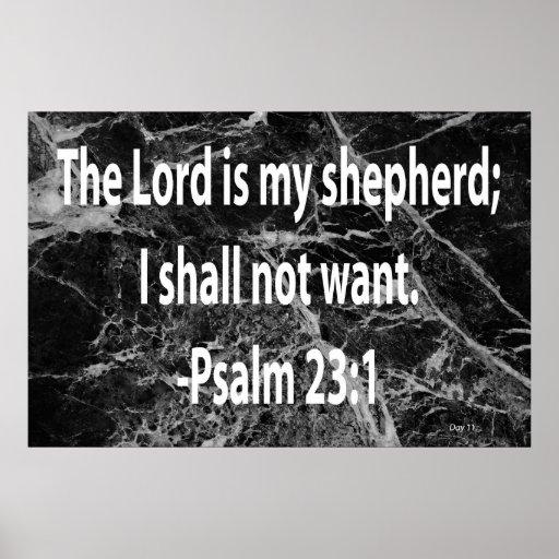 23:1 do salmo impressão