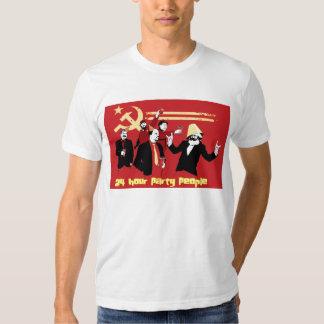 24 pessoas do partido da hora t-shirts