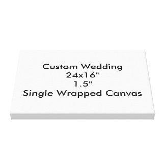 """24x16 Wedding feito sob encomenda"""" 1,5"""" únicas"""
