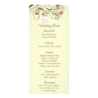 25 frascos de pedreiro florais do primavera dos ca 10.16 x 22.86cm panfleto