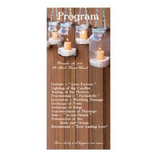 25 luzes da vela do frasco de pedreiro do programa 10.16 x 22.86cm panfleto