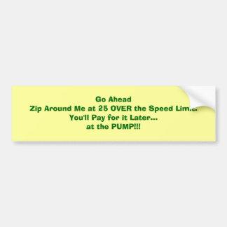 25 sobre os Limite-Custos da velocidade você na Adesivo Para Carro