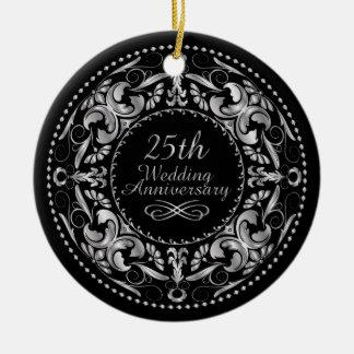 25o Aniversário de casamento 1 - ornamento