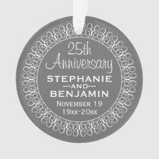 25o Aniversário de casamento personalizado
