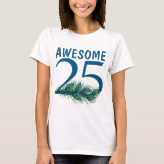 25o Camisas do aniversário