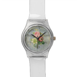 28 de maio relógio - buquê do vintage