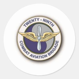 29o Brigada de aviação do combate Adesivos Redondos