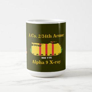 2/34th Armadura, 25os Inf. Div. Caneca de M88 VTR