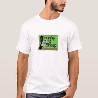 2 4 carneiros Funky Camiseta