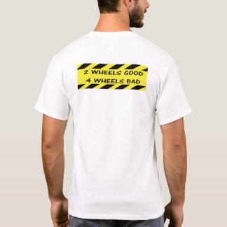 """""""2 camisetas do ciclismo das rodas boas"""" para"""