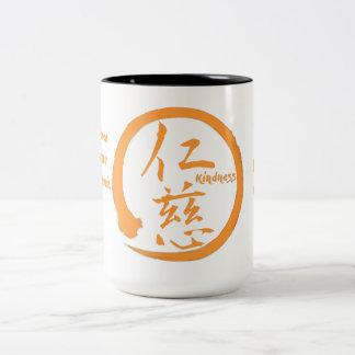 2 canecas da bondade do tom com kanji e o enso