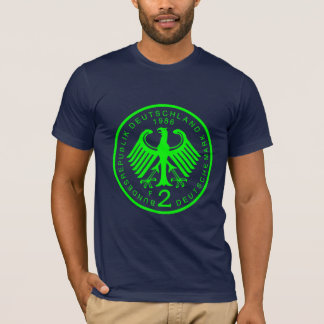2 Deutsche Marks_Green Camiseta
