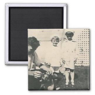 2 marinheiros da criança e ímãs do cão imã