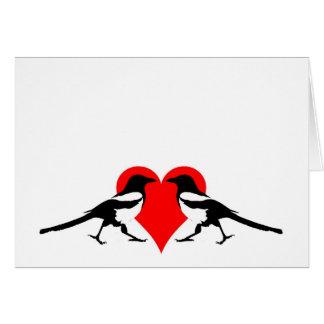 2 para a alegria - cartão vazio dos namorados
