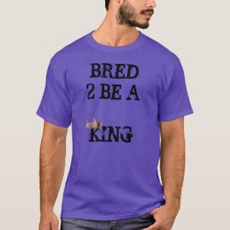 2 produzidos sejam rei (respeite meus direitos) camiseta