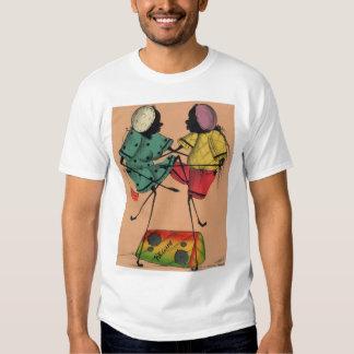 2 puramente holísticos t-shirts
