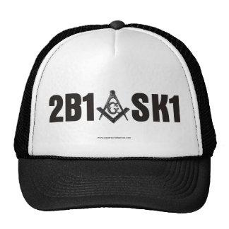 2B1ASK1 - Chapéu maçónico do camionista Boné