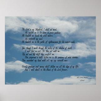 2ó Salmo Poster