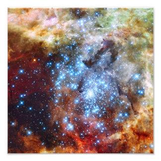 30 conjuntos de estrela da nebulosa de Doradus Impressão Fotográfica