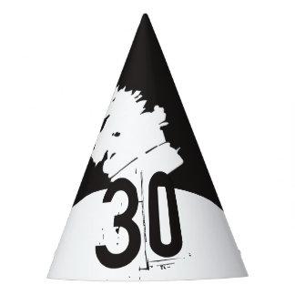 30 para um aniversário de 30 anos chapéu de festa