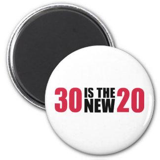 30 são o aniversário 20 novo imã de geladeira