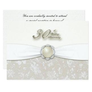 30o Aniversário de casamento RSVP Convite 8.89 X 12.7cm