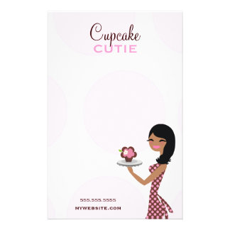 311 Candie o étnico ondulado de Cutie do cupcake Modelos De Panfleto
