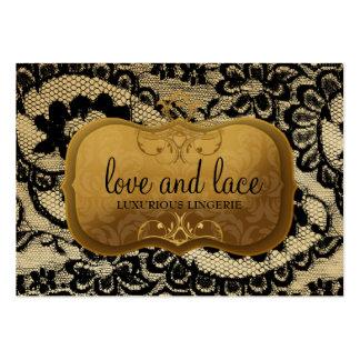 311-Lace de Luxe - placa de ouro pródiga Cartoes De Visitas