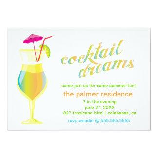 311 sonhos do cocktail convites personalizado