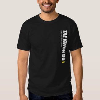 323-1-2 a ?a correia Tae Kwon de Dan Black faz a T-shirts