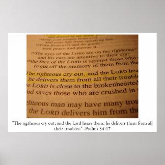 34:17 do salmo poster