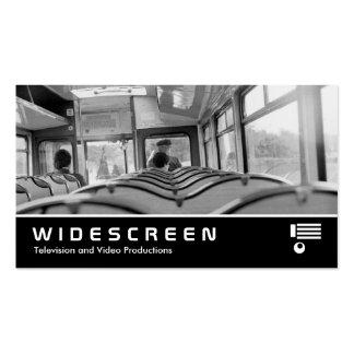 361 Widescreen - Interior do ônibus (os anos 70) Cartoes De Visitas