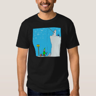 (366) pesca do urso x77 polar para desenhos tshirt