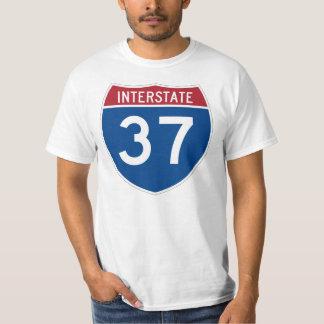 37 sinal de um estado a outro da estrada (I-37) Tshirt